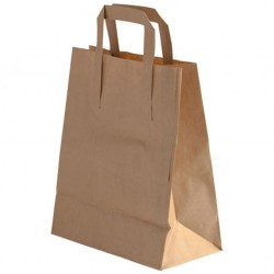 Paper Takeaway Carry Bags - Medium (250 bags)