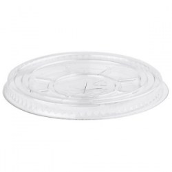 12-16oz Compostable Flat Smoothie Lids (100)