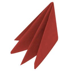 Swantex Red Napkins 33cm 2ply (100)