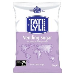 Tate & Lyle Fairtrade Vending Sugar (6 x 2kg)