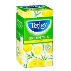 Tetley Green Tea Lemon (25)