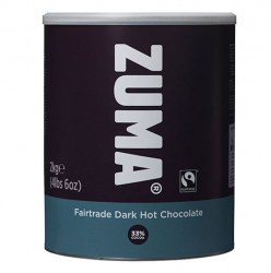 Zuma Fairtrade Dark Hot Chocolate (2kg)