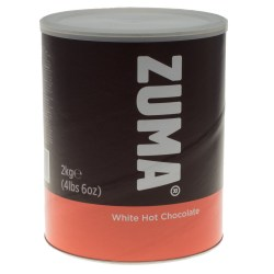 Zuma White Hot Chocolate Powder (2kg)