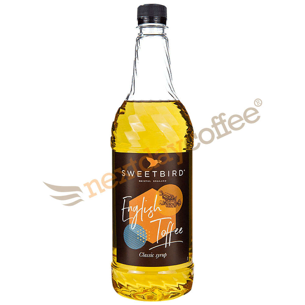 Sweetbird English Toffee Syrup (1 Litre)