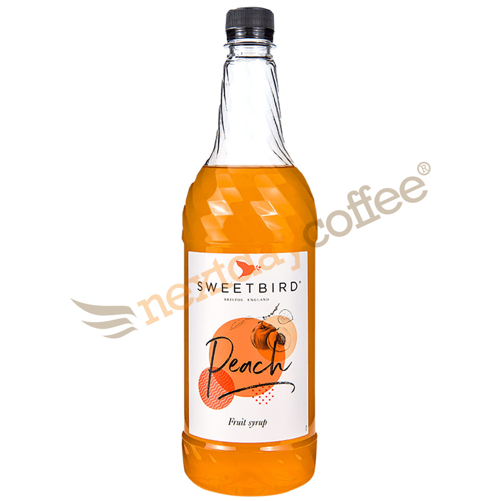 Sweetbird Peach Syrup (1 Litre)