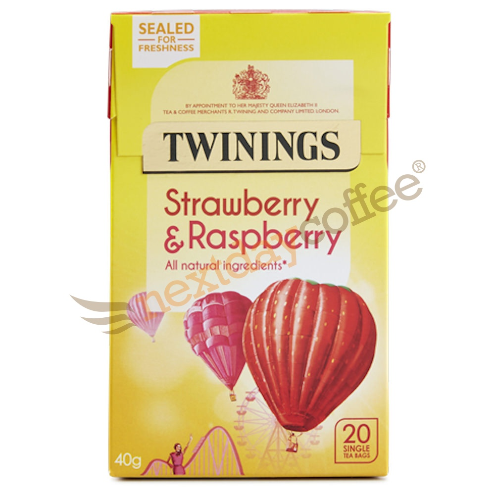 Twinings Strawberry and Raspberry Infusion (20 bags)