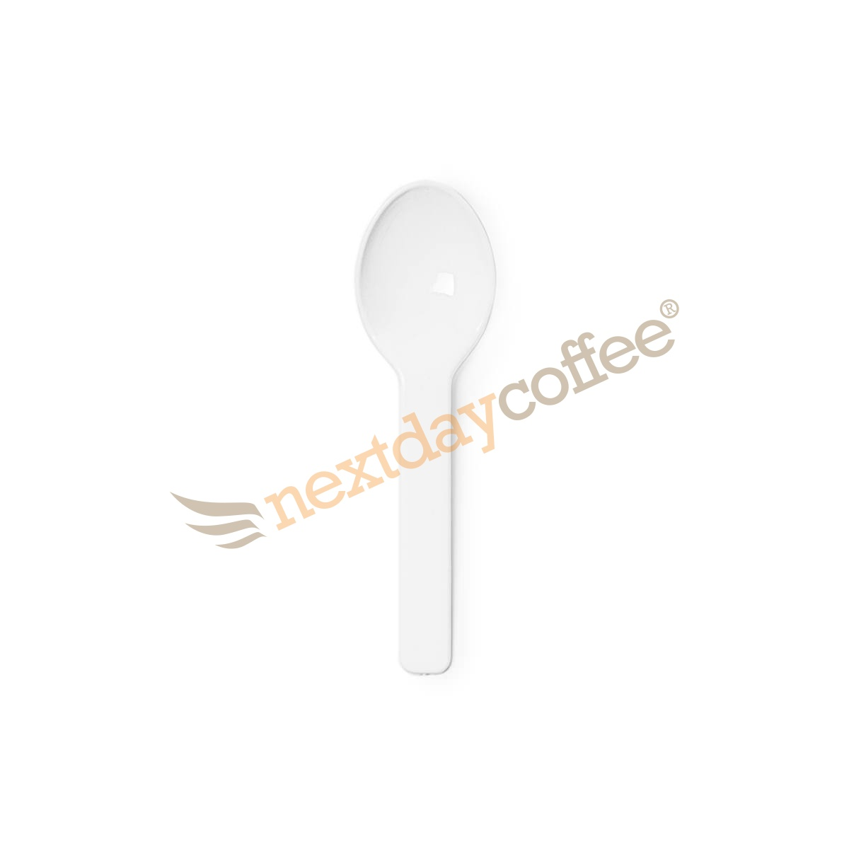 Vegware Compostable White Ice Cream Spoons (2000)
